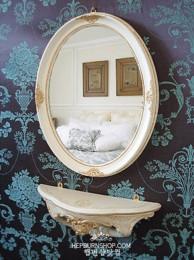 르네상스 거울선반세트